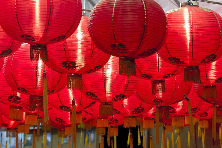 chinese lanterns, celebrate, lantern, chinese Culture, chinese New Year, chinese Lantern, china - East Asia