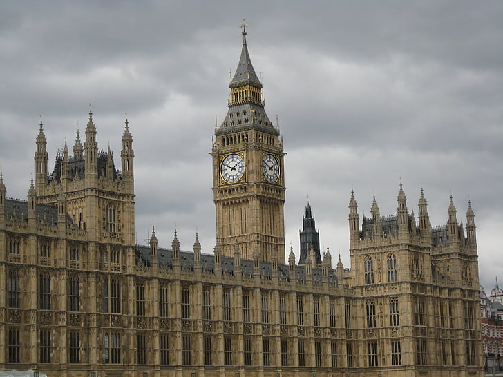 Lontoo, parlamentin, Big ben
