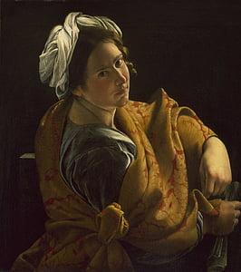 orazio gentileschi, ภาพวาด, สีน้ำมันบนผ้าใบ, ศิลปะ, ศิลปะ, ศิลปะ, แนวตั้ง