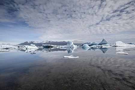 iceland, glacier, iceberg, landscape, lagoon, jokulsarlon, iceberg - Ice Formation