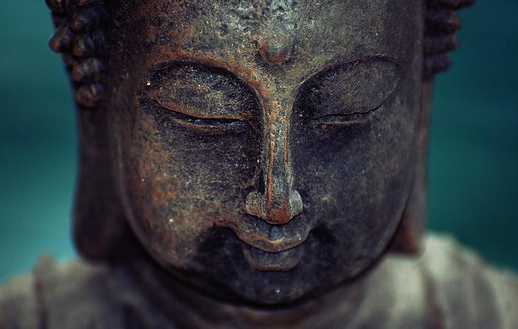 Zen, Bouddha, réflexion, luminosité, aura, paix, méditation