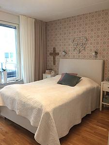 dormitori, disseny d'interiors, llit, decoració