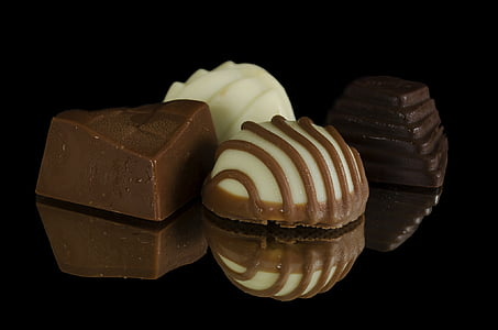 chocolate, sweets, confectionery, dark, gourmet, candy, tasty