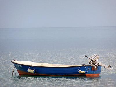 завантаження, катер, відпочинок, настрій, Острів, abendstimmung, море
