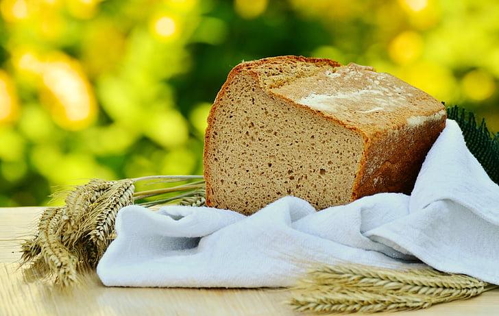 leib, teravilja, Küpseta, küpsetatud, Käsitöö, toitumine, odra