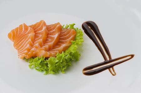 sushi, aliments, Japó, àpat, gurmet, marisc, sopar