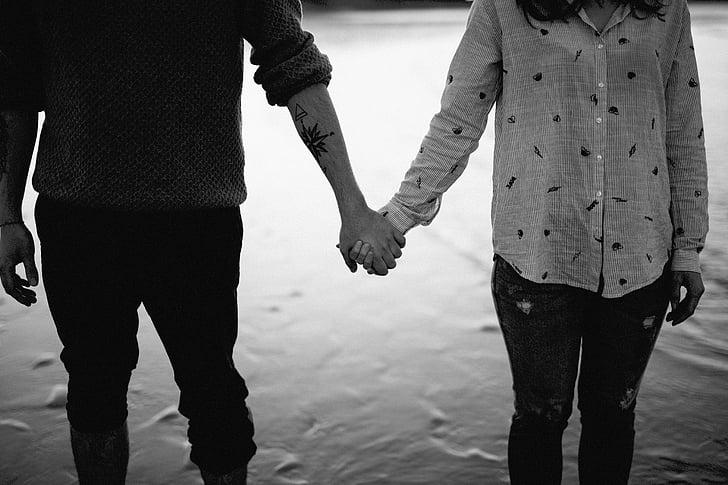 persones, parella, home, dona, l'amor, Romanç, celebració