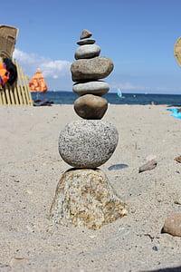 Cairn, stenar, tornet, stabilitet, stentorn, staplade, balans
