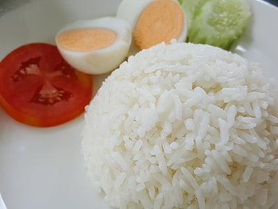 arròs, plat, aliments, Orgànica, menjar, àpat
