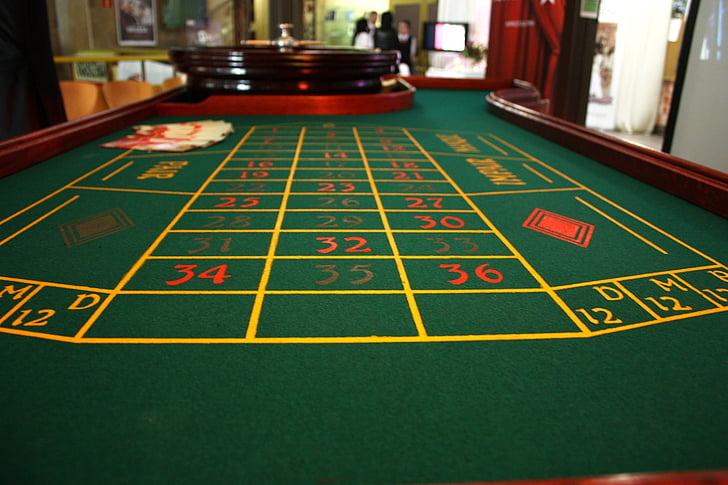 Casino de, ruleta, taula, el distribuïdor, joc, diversió, addicció