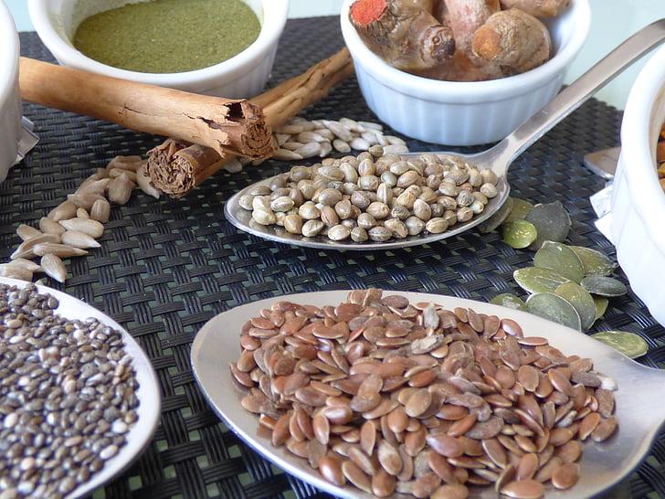 llavor, Sa, espècies, Nutrició, ingredient, vibrants