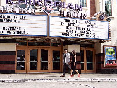 couple, movies, cinema, theater, romantic, romance, love