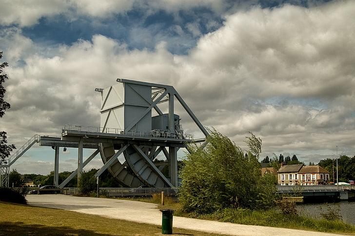 Pegasus-Brücke, Normandie, Frankreich, d-Day, Krieg, Brücke, WW2