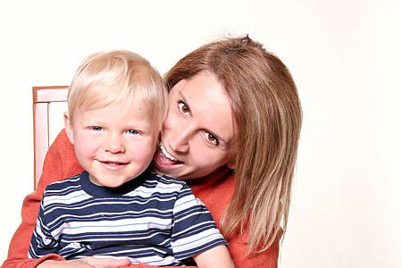 kids, mom, child, child portrait, family, kid, boy