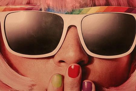 noia, Retrat, Carnaval, retro, aspecte retro, anys 70, elegant