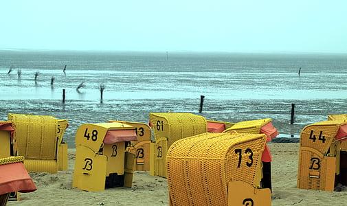 пляж, мне?, шезлонг, праздник, Лето, Праздники, восстановление