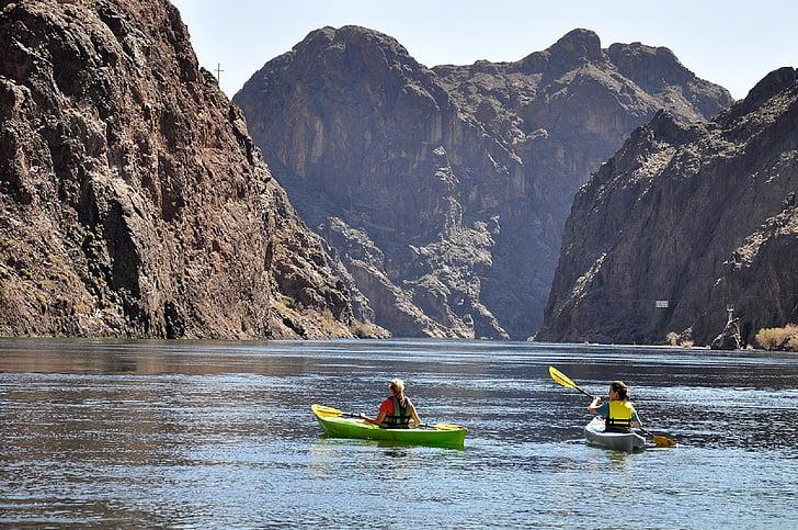chèo thuyền kayak, nước, thể thao, hoạt động, giải trí, phong cách sống, hoạt động ngoài trời