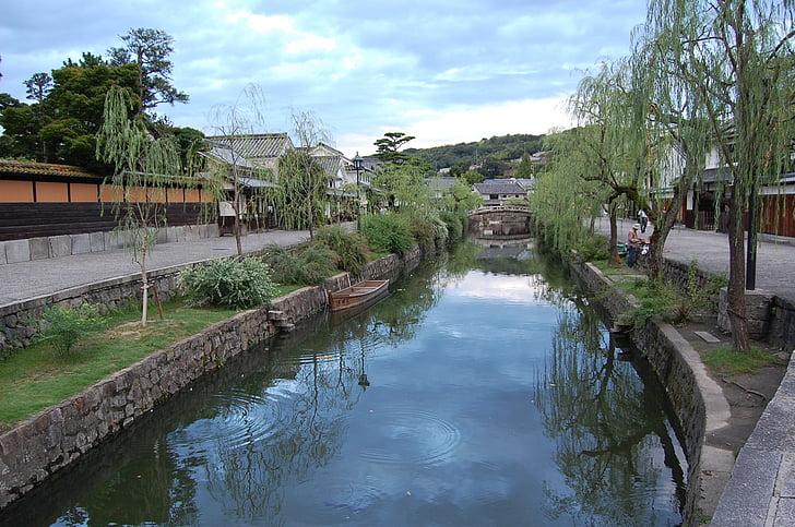 คุราชิกิ, โอคายามะ, แม่น้ำ, โซนความงาม, ญี่ปุ่น, สถานที่ท่องเที่ยว