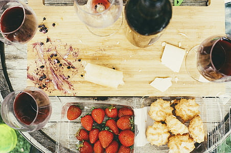 Cooking, lõikelaud, jook, toidu, köök, ettevalmistamine, ettevalmistamine