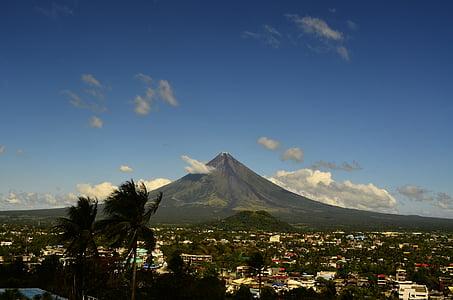 volcà, Mayon, Filipines, natura, muntanya, Àsia, volcànica