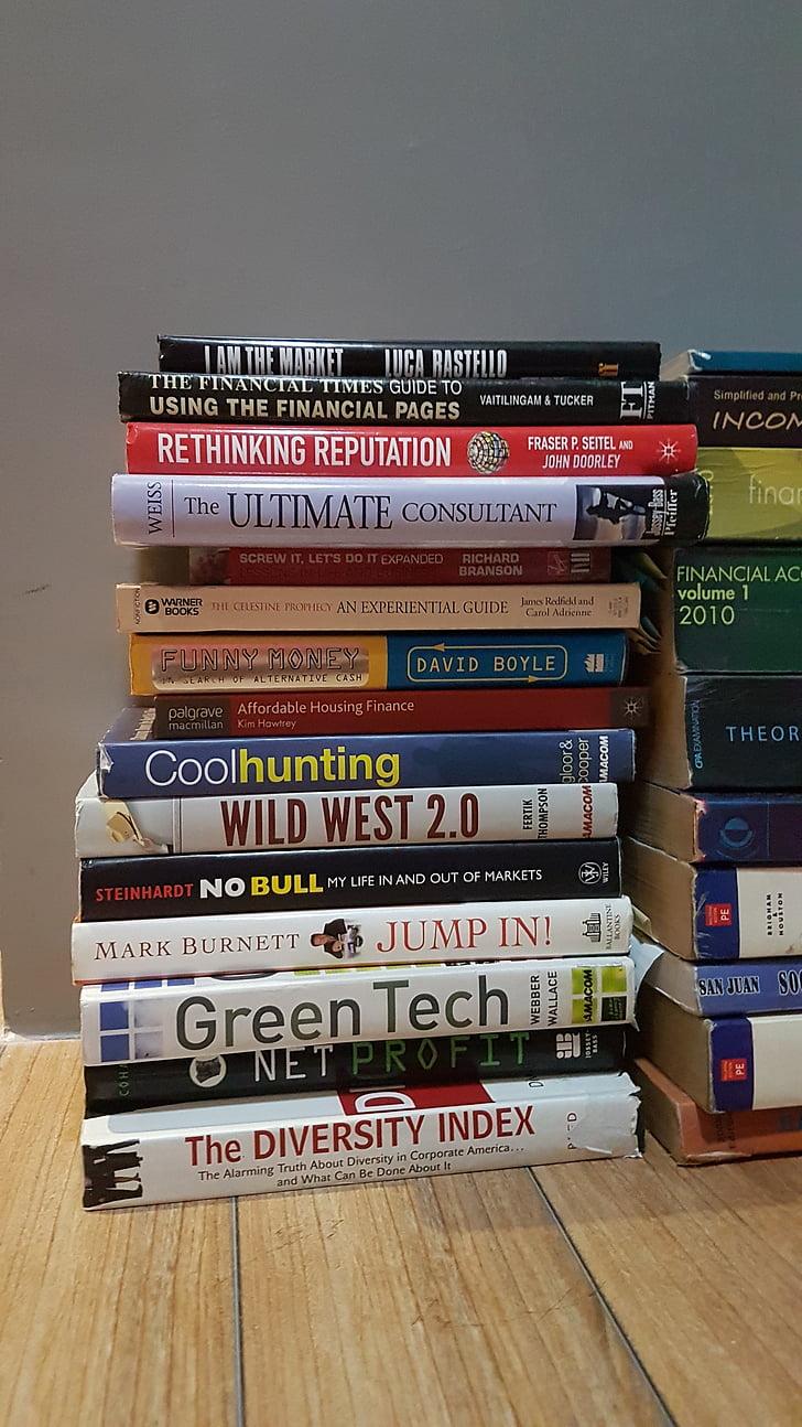 kirjat, kokoelma, liiketoiminnan
