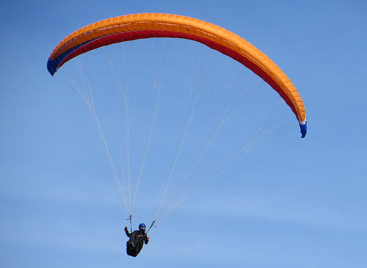 sport, paragliding, fly, extreme Sports, flying, action, hobbies