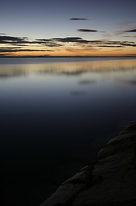 lower mar, murcia, dawn, sea, sky, beach
