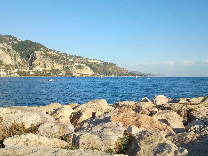 havet, Rock, landskap, Seaside, Ocean, sida, Rocks