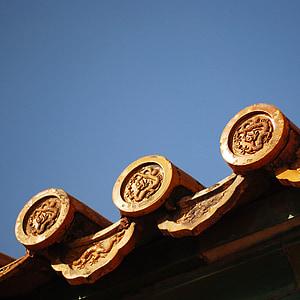 Пекін, Будівля, Національний Палац-музей, кахелю
