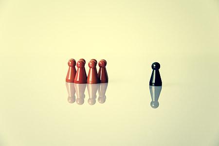 spēles attēlu, simbolika, vadītājs, grupa, izslēgšanas, grupas dinamika, kopā