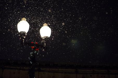 Motorhaube, Glühwürmchen, Glühwürmchen, Lampe, Laternenpfahl, Laterne, Licht