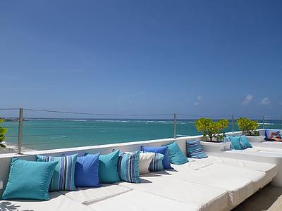 more, naselje, odmor, Hotel, ljeto, uz more, marinac