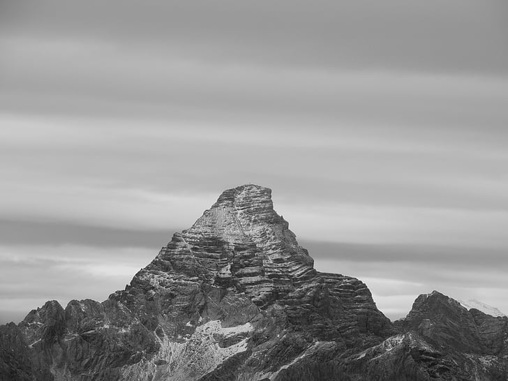 muntanya, boira, muntanyes, alpí