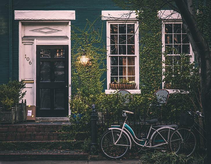 ročník, dům, jízdní kolo, Domů Návod k obsluze, Architektura, Exteriér, Starý dům