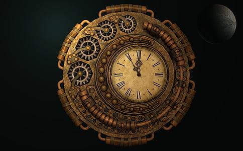 aeg, moondial, Ajamasin, kuu aega, täiskuu, Moonlight, aeg töötab