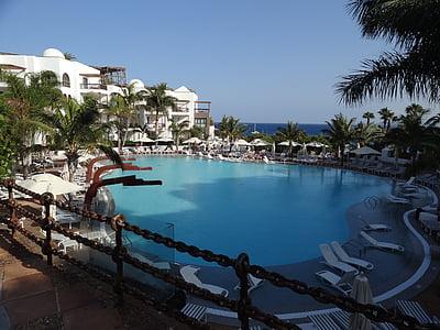 bazen, Hotel, vode, naselje, ljeto, odmor, odmor
