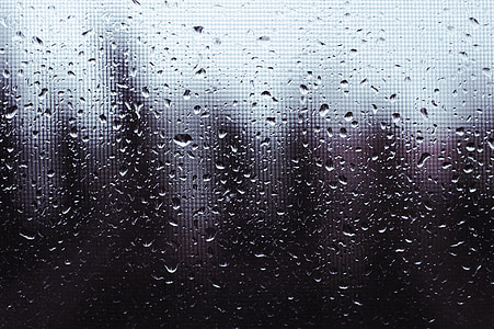 rain, window, wet, weather, rain drops, glass, liquid