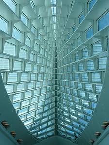 kardin, seina, hoone, interjöör, disain, Milwaukee kunstimuuseum, kaunite kunstide muuseum