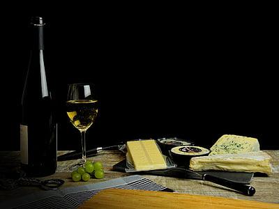 vino, bere, alcol, vetro, bottiglia, bottiglia di vino, bicchiere di vino