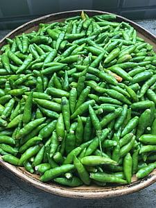 paprika, roheline, aroom